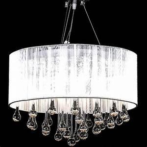 Lustre Pampilles Cristal : la boutique en ligne lustre moderne plafonnier 3 feux 85 pampilles cristal ~ Teatrodelosmanantiales.com Idées de Décoration