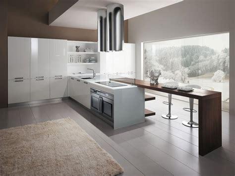 cuisine blanche contemporaine cuisine en polymere 15 photo de cuisine moderne design