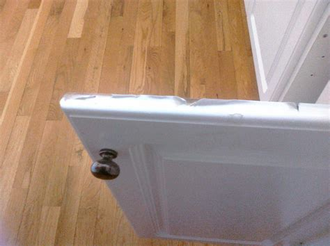 how to fix a cabinet door peeling white thermafoil cabinet door and drawer front