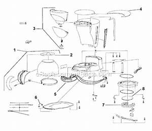 Mr  Coffee Ecx23 Parts List And Diagram