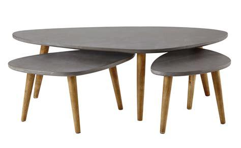 tables gigognes grises maisons du monde
