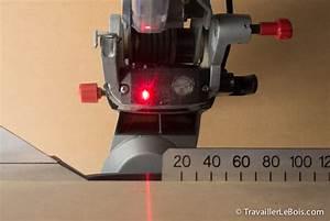 Scie À Onglet Radiale Metabo : r glage du laser de la scie onglet metabo kgs 216 m travailler le bois ~ Voncanada.com Idées de Décoration