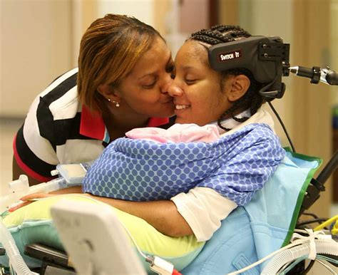 After Giving Birth A Paralyzed Teen Finds Hope In Newborn