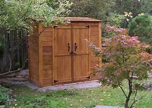 Grand garden chalet 6x3 cedar garden shed contemporary for Cedar garden shed