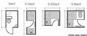 Salle D Eau 2m2 : les petites salles de bains 2 3 m toilettes ~ Dailycaller-alerts.com Idées de Décoration