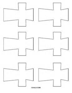 Christian Cross Template Printable