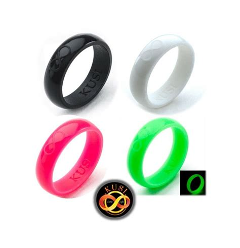 silicone wedding ring wedding band for women 4 rubber rings sets by ebay