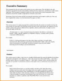 resume executive summary format resume executive summary sle inspiration decoration
