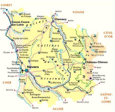 bureau vallee rennes amopa carte de la nièvre