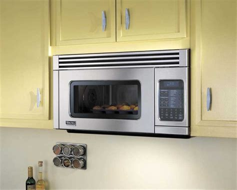 built in microwave ovens with exhaust fan viking vmor205ss 1 1 cu ft over the range microwave oven