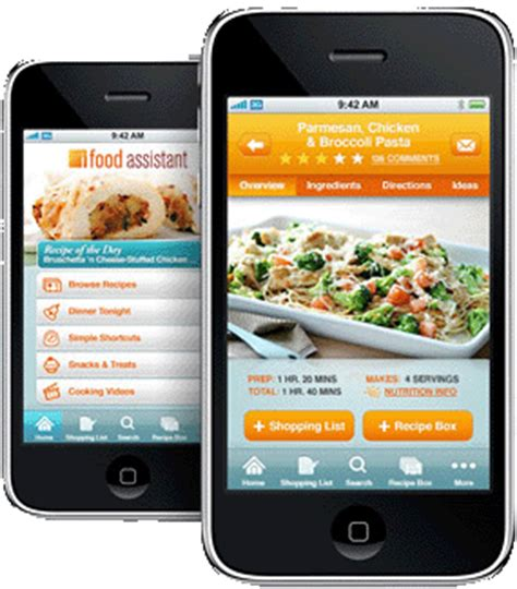 free food apps for iphone with the ifood assistant app the iphone becomes a kitchen