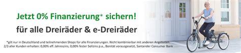 Solide Finanzierung 1 X 1 Der Zinsen by Pfau Tec Primo Elektro Dreirad F 252 R Erwachsene Dreirad