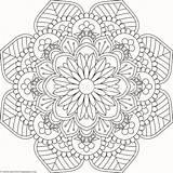 Coloring Mandala Pottery Flower Lotus Getcoloringpages Cool sketch template