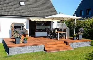 Terrasse Tiefer Als Garten : terrasse garten blog ~ Bigdaddyawards.com Haus und Dekorationen