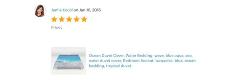teal blue ocean water duvet cover  sizes