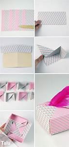 Geschenkbox Selber Basteln : die besten 25 schachtel basteln ideen auf pinterest box basteln kleine geschenkbox basteln ~ Watch28wear.com Haus und Dekorationen