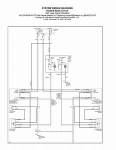 1997 Jeep Grand Cherokee System Wiring Diagram Heated