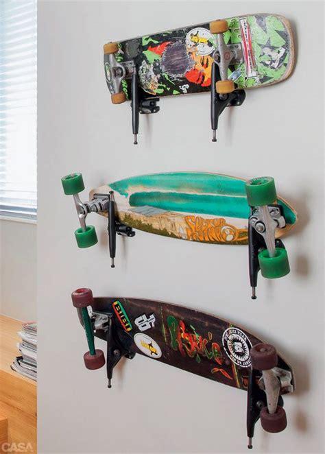 Diy Skateboard Deck Wall Mount by 1000 Id 233 Es Sur Le Th 232 Me Skateboard Rack Sur