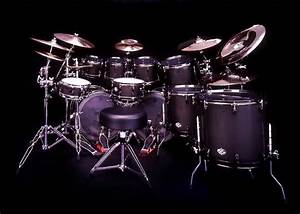 Black Drum Set Image Music Wallpaper | teste | Pinterest ...