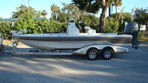 Ranger 2410 Bay Boat For Sale by 2009 Ranger 2410 Bay With 2009 F250 Yamaha The Hull