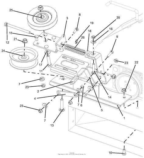 gravely     bagger parts diagram