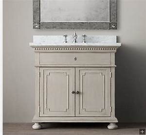 27 elegant restoration hardware bathroom vanities eyagcicom for Bathroom vanities like restoration hardware
