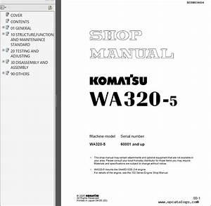 Komatsu Wa320