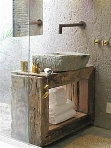 Lavabo En Pierre Naturelle : le lavabo en pierre en 61 photos et des astuces d co ~ Premium-room.com Idées de Décoration