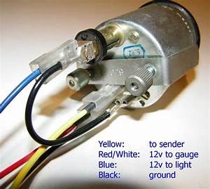 Volvo 240 Instrument Cluster And Gauge Wiring