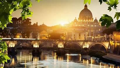 Vatican Rome Sunset Wallpapers Italy Desktop Wallpapersafari