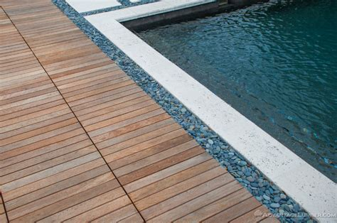 Ipe Deck Tiles This House by Miami Ipe Deck Tiles Contemporary Pool Miami By