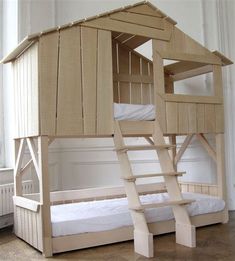 Tree House Bunk Beds For Sale - bedroom combining traditional elements with contemporary