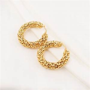 Daily Wear Gold Earrings Designs images