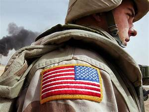 Here's why the American flag is reversed on military ...