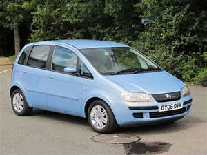 Used Fiat Idea 2006 Petrol Blue Manual For Sale In Epsom Uk