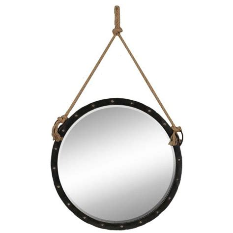 floor mirror anchor nautical mirror with rope