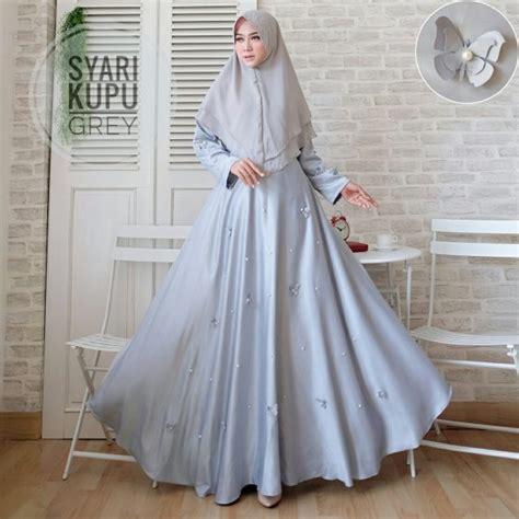 gamis syari kupu maxmara baju muslim modern butik jingga