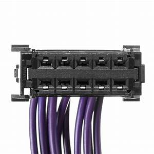 Heater Blower Resistor Wiring Loom Harness Plug For