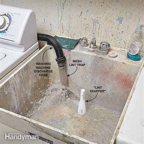 prevent clogged drains washing machine hose