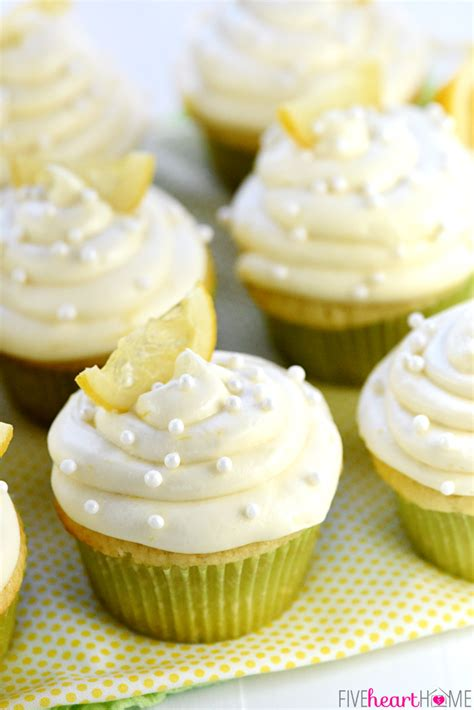 Lemon Butter Cream Cheese Frosting