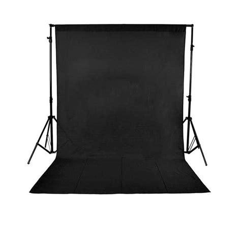 jual background polos warna hitam   lapak megakamera