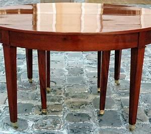 tres grande table de salle a manger epoque directoire With tres grande table de salle a manger