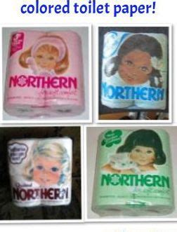 Colored Bathroom Tissue by Northern Colored Toilet Paper 1960 S Memories