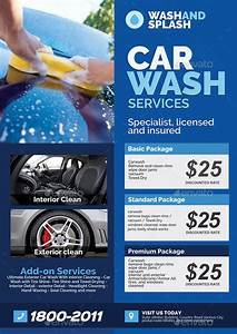 Corporate Cover Letters Car Wash Services Promotional Flyer By Artchery Graphicriver