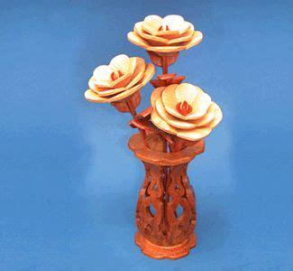 scroll  vases miniature flower  vases wood pattern