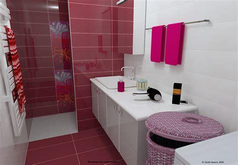 salle de bain fille d 233 coration salle de bain fille