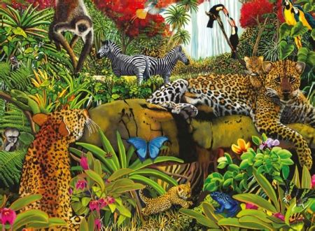 wild jungle  abstract background wallpapers