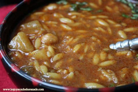 marocain de cuisine chorba algérienne aux langues d 39 oiseaux les joyaux de sherazade