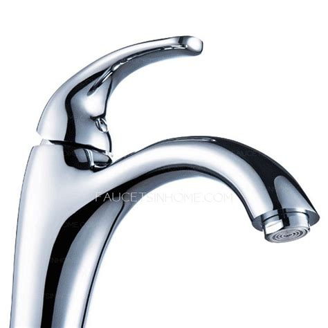 tall vessel sink faucet high end tall single handle bathroom vessel sink faucet