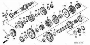 Honda Atv 2006 Oem Parts Diagram For Transmission